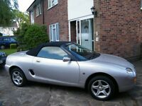 MGF VVC 1.8 Last of the tradition British sportscar including private plate