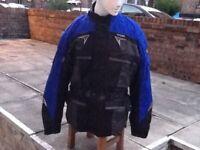 XXL motor bike jacket plus gloves