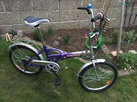 Fold down bike for sale