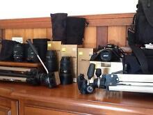 Nikon D300 with 17-55mm 70-300mm 18-200mm 10-20mm 70 macro lenses Eungai Creek Nambucca Area Preview