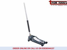 Draper Expert 31481 2 tonne Low ENRTY Profile Entry 70mm Trolley Jack Quick Lift