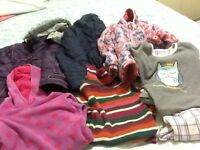 Girls winter coats bundle 3-4