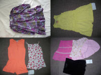 Bundle of 15 Summer clothes for 6-7 years, mostly cotton. Very good and good condition.