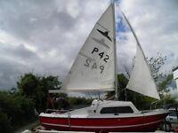 Sailing boat Dayboat