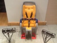 TOPEAK Child bicycle passenger seat with 2mounting racks-excellent condition