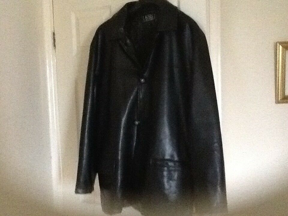 Men's Hugo Boss Leatherette Jacket Brand New