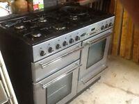 Rangemaster Toledo Gas Cooker 5 Burners + hot plate
