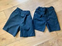Boys grey summer shorts bundle Next £3 for all age 3-4. (can post)
