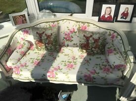 Chaise style sofa