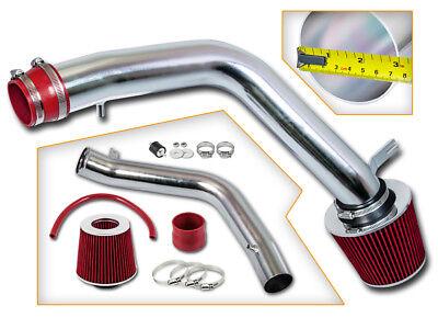 BCP RED 04-08 Acura TL Base 3.2L V6 Cold Air Intake Racing System + Filter Acura Tl Air Intake