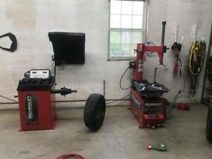 Tire changing service (mount and balance)