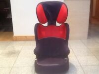Full highback lightweight group 2 3 car seat for 15kg upto 36kg(4yrs upto 12yrs)washed and cleaned