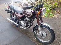 Honda CD 200 Benly Classic Low Mileage Original