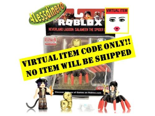 ROBLOX Neverland Lagoon: Salameen The Spider Queen VIRTUAL ITEM CODE ONLY!!