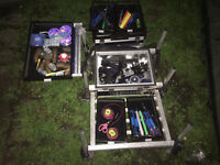 full set up of fishing tackle