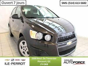 2015 CHEVROLET SONIC LT, My LINK, BLUETOOTH, DEMARREUR A DISTANC