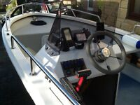 Hunter 460 fishing boat/Bass boat/speed boat (not orkney sea hog) BARGAIN!