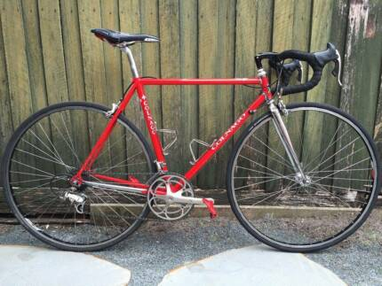 Bicycle paconi fixed gear men\'s bike . Campagnolo frame/Columbus ...