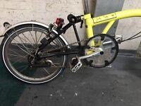 Brompton Folding Bike M3L 2016