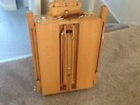 Beech wood artist box easel