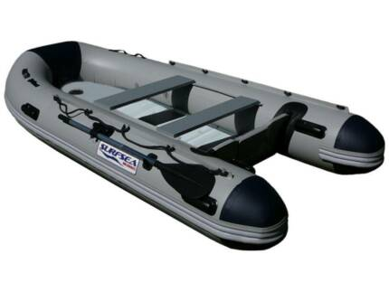 3.3M INFLATABLE BOAT WITH ALUMINIUM DECK FLOOR