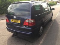 ford galaxy mot 7 seater drives nice diesel tdi remote locking 55mpg