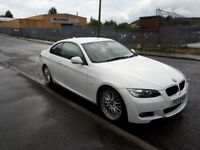 BMW 320i M sport coupe white