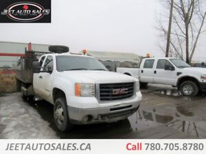 2007 GMC 3500 HD Extended cab Flat deck