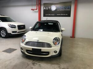 MINI Cooper Convertible 2013, AUTOMATIQUE, BLUETOOTH, 2 PORTES,