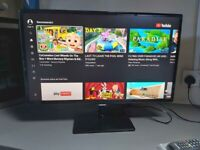 """Samsung Smart 27"""" Full HD 1080p LED TV Monitor T27D390S, Freeview, Built in Wifi"""