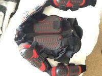 CE motorcross body armour.
