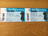 Ed Sheeran Tickets Standing x 2