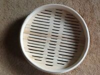 17 high quality restaurant or catering bamboo steamers base 30cm
