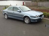 Jaguar x type 2.0 v6 manual saloon 2002