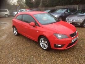2013 [13] SEAT IBIZA 1.2 FR TSI 1 OWNER FROM NEW 31K