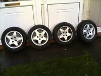 Honda Civic sport alloys 14""
