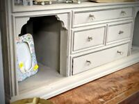 Vintage armoire/wine bar/china cabinet