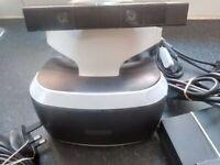 PSVR Playstation 4 VR Set with camera