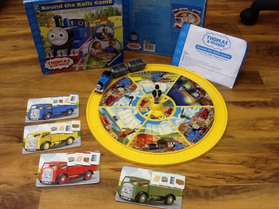 Thomas & Friends - Thomas Round The Rails games with instruction+ ...
