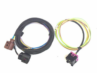 Wiring Loom Harness Cable Set Sra Swra Headlight Washer System Xenon vw Polo 6R