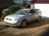 Vauxhall Vectra Estate 5dr 1.8 petrol 2005/05 plate