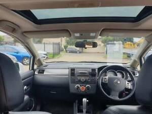 2012 Nissan Tiida TI LUXURY 1.8L Auto SUNROOF