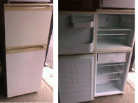 PLEASE RING OR TEXT FIRST HOTPOINT ICED DIAMOND FRIDGE FREEZER 53.5 INCHES HIGH X 22 INCHES WIDE