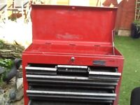 Metal tool chest 8 drawer- Halfords professional