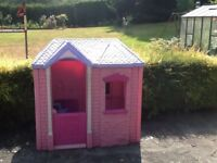 Wendy house. Little Tikes