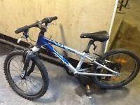 Boys 20 inch wheel bike