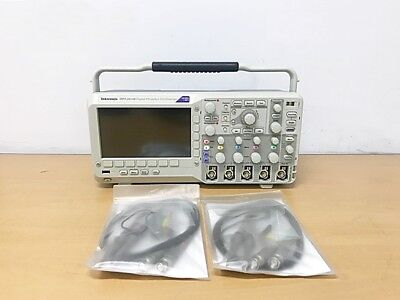 Tektronix Dpo2014b 100mhz 1gss 4ch Oscilloscope With P6100 Probes