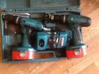 Makita 18v twin pack drill set