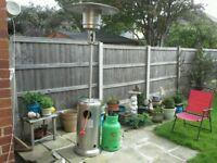 Out door patio calor gas heater