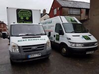 Profesional Removals with low Prices and two vans